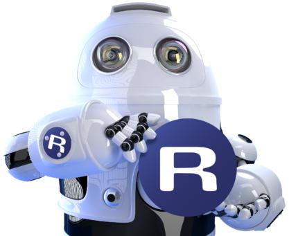 Redmark Robot - Maskot billede
